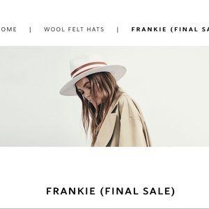 ISO Janessa Leone Frankie Hat size medium